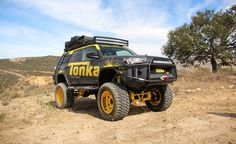 It may be a giant ad with wheels, but Tonka's Toyota 4Runner is a lot of fun.