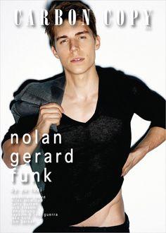 Nolan Gerard Funk by Yu Tsai Nolan Gerard Funk, Miles Mcmillan, Carbon Copy, Cover Boy, Actors Male, Fashion Mag, Hot Boys, Sexy Men, Hot Men