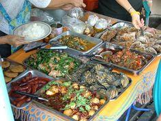 Thai Food in street - Wikipedia