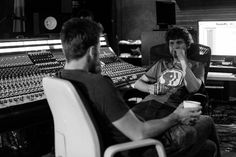 Bill & Mike League in the studio