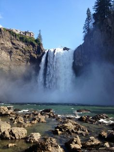 Snoqualmie Falls, Snoqualmie, Washington