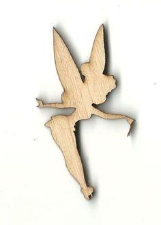 Tinkerbell - Laser Cut Wood Shape DSY94