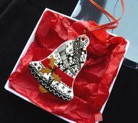 Zentangle Christmas ornament