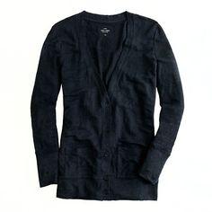 Whisper linen cardigan