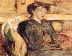 Portrait of Madame Hessel by Edouard Vuillard
