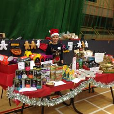 Our stall today at the Snorters Christmas Party. Pugs, Bulldogs, Frenchies and Bostons what a great day!