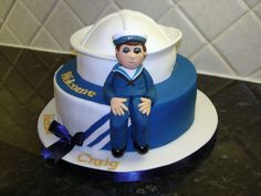 Welcome home Sailor - Cake for a returning Sailor.
