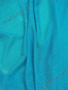 Frozen Fabric, Glitter frozen fabric, Elsa Fabric,Costume Fabric, Blue fabric for Queen Elsa costume FZ62005