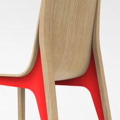"""""""Tômé"""" / Chair designed by Noncommun. ©2016 Steel and wood"""