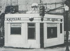 Ever eat a Krystal burger? Well, the Krystal restaurant chain was originally founded in 1932 in Chattanooga. My First job Tennessee Waltz, State Of Tennessee, Chattanooga Tennessee, Chattanooga Attractions, History For Kids, Local History, Krystal Restaurant, Krystal Burger, Vintage Restaurant