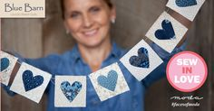 Blue Barn by Laundry Basket Quilts for Moda