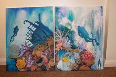Ghiannis D Egypt Corals by Frances Trace Welsh Artist. Fine Art Drawing, Art Drawings, Coral Art, Sea Art, Shipwreck, Corals, Welsh, Under The Sea, Egypt