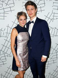 Shailene Woodley and Ansel Elgort are a cute twosome at a screening for their new film The Fault In Our Stars in Beverly Hills. http://www.people.com/people/gallery/0,,20815953,00.html#30154020