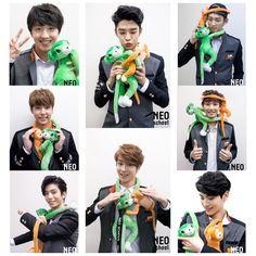 Happy new year Lee Jae Yoon, Lee Sung, Neoz School, Young Kim, Fnc Entertainment, Seong, Music Videos, Singing, Kpop