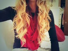 Curls hair with waves #blonde #brunette brown hair style #curly #wavy