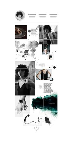 layout # Puzzle layout design, theme inspiration, templates for feed, creative background, best collages #