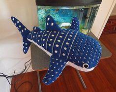Amigurumi Crochet Pattern - Whale Shark  Pattern No.32