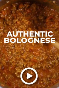 - We should have posted The Secret to Authentic Italian Bolognese Sauce Recipe last year after we returned from Italy, but better late than never! Beste Bolognese Sauce, Slow Cooker Bolognese Sauce, Authentic Italian Bolognese Sauce Recipe, Authentic Italian Recipes, Authentic Enchilada Sauce, Bolognese Pasta, Spaghetti Bolognese Original, Beef Bolognese Recipe, Best Spaghetti Bolognese Recipe