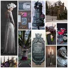 The Haunted Mansion Inspired Wedding