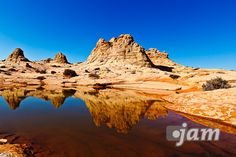 """""""mirrored"""" Coyote Buttes South; AZ"""