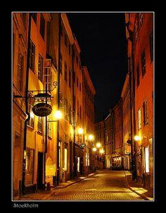 De old town of Gamla Stan, dates back to de 13th century in Stockholm, Uppland, Svealand_ Sweden