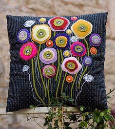 Wallflower Cushion- Wendy Williams