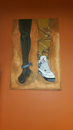 Painting at Profyle Shoe Store