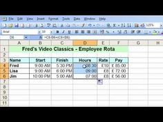 ▶ Microsoft Excel Tutorial for Beginners #24 - Date & Time Pt.5 - Time Across Midnight & Multiple Days - YouTube