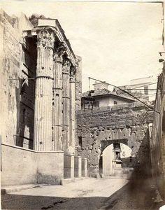 1860/65 Arco dei Pantani - vista dal lato dei Fori Imperiali. Piazza Navona, Old Photos, Artwork, Arch, Vatican, Tower, Rome, Old Pictures, Work Of Art