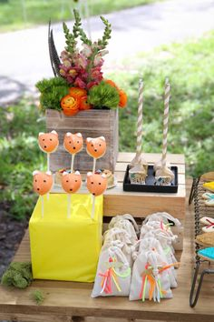 Fox cake pops! LOVE! Bohemian + Indian tribal Camping Themed Birthday Party via Kara's Party Ideas KarasPartyIdeas.com! Printables, tutorials, recipes, cake, banners, giveaways and more! #boho #bohemian #bohoparty #bohemianparty #campingparty #campingpartyideas #indianparty #bohemianpartydecor #karaspartyideas #partyplanning #partystyling #eventplanning #partysupplies (3)