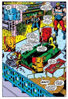 Roy Thomas & Barry Windsor-Smith, Avengers #66