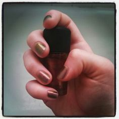 I love this color!!!! Mean and green by Mac