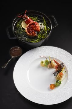 """Lobster from """"Chausey & Brehat Island"""" @ Le Cinq"""