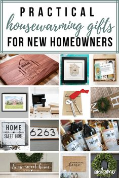 If you are brainstorming for the practical housewarming gifts for new homeowners, check out the list of unique housewarming gift ideas here. Everything from customized cutting boards, return address stamps and welcome wreath! Practical Housewarming Gifts, Housewarming Gift Ideas First Home, Housewarming Gift Baskets, First Home Gifts, Practical Gifts, New Home Gifts, Housewarming Invitations, Personalized Housewarming Gifts, Home Wooden Signs