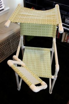 How-to: PVC Chair with Laptop Desk