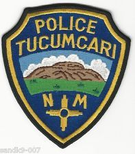 TUCUMARI Police State of NEW MEXICO NM Shoulder Patch