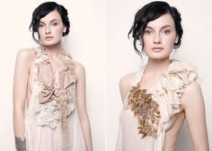 ruffled design- this is the best thing I have ever seen. I need the left one.