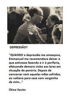Chico Xavier - depressão