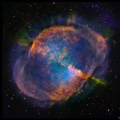 Dumb Bell Nebula; M 27, NGC 6853