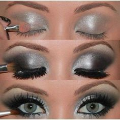 How to- eye make up