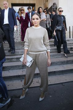 For These Stars, the Best Paris Views Are From the Front Row -  Celebrity Street Style