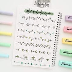 The Ultimate Guide to Dutch Door Bullet Journal Layouts - Journal Junkies Do you need more space in your weekly or monthly spreads? Learn how to cut yourself some Dutch Doors and increase the impact of your Bullet Journal layouts! Bullet Journal Inspo, Bullet Journal Headers, Bullet Journal Banner, Bullet Journal Aesthetic, Bullet Journal 2019, Bullet Journal Ideas Pages, Bullet Journal Layout, Bullet Journal Dividers, Borders Bullet Journal
