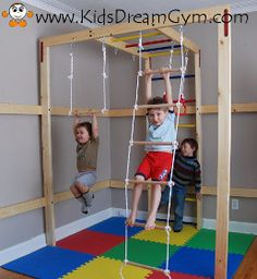 hanging and climbing