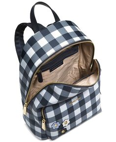 15bccdc958aea1 Michael Kors Gingham Large Backpack, Created for Macy's & Reviews -  Handbags & Accessories - Macy's