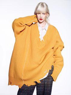 Marjan Jonkman by Richard Burbridge for Vogue China August 2016