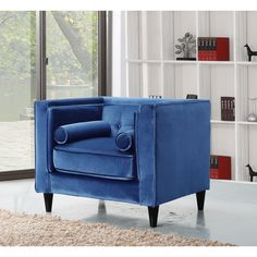 High Quality Elegant And Eye Catching, The Stunning Carson Chair From Meridian Furniture  Is The Perfect Pictures