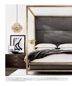 Modern Bedroom Decor - Modern Bedroom Colors and Modern Bedroom Furniture Bedroom Sets, Dream Bedroom, Home Bedroom, Bedroom Furniture, Bedroom Decor, Bedroom Lighting, Master Bedrooms, Bedroom Lamps, Bedding Sets
