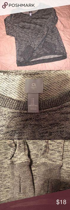 Gap sweatshirt with thumb holes Super cute Gap sweatshirt with thumb holes! In great condition! GAP Tops Sweatshirts & Hoodies