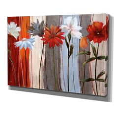 """Spring Debut"" by Nan Painting Print on Wrapped Canvas"