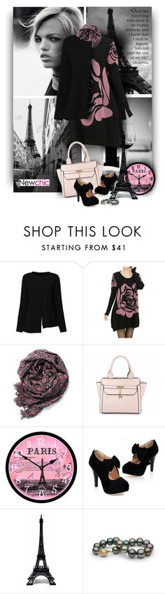 """""""Happy Weekend - Newchic"""" by christiana40 ❤ liked on Polyvore featuring Merci Gustave! and plus size clothing"""